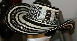 COLOMBIAN HAT FINO SOMBRERO VUELTIAO COLOMBIANO TRADITIONAL all sizes avail $45.00