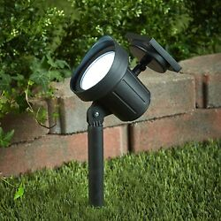 Large Outdoor Solar Spot Light Stake Outdoor Lighting Yard Accent $16.98