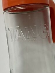 Vintage Embossed Tang Brand Pitcher Glass Decanter Anchor Hocking 1970#x27;s $15.00