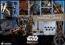 HOT TOYS 12quot; STAR WARS THE MANDALORIAN HEAVY INFANTRY MANDALORIAN 1 6 SCALE FIG $450.00