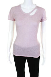 RA Womens Cut Out Tee Pink Size Extra Extra Small $32.99