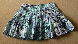Jane Norman Ladies Skirt Short Fit and flare lined Blue Size 12 Hardly worn GBP 7.00