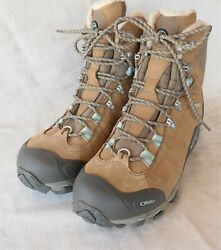 New OBOZ Womens size 9.5 Winter Insulated Boots Very Nice $95.00