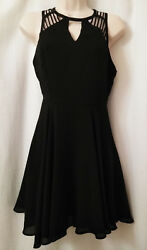 Classic Black Party Dress Sparkle and Fade Size 0 Very Classy Fashionable $10.00