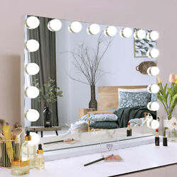 FENCHILIN Hollywood Vanity Makeup Mirror Large with Lights Bluetooth LED Lighted $187.99