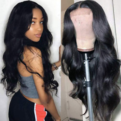 Lace Front Wigs Human Hair Pre Plucked 150% Density Brazilian Body Wave Lace For $127.24