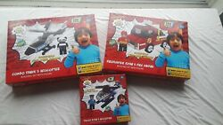 Ryan's World Helicopter Fire Truck Engine Police Sets With Figures $29.99