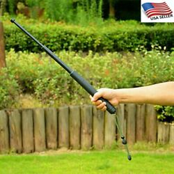 55 64Cm Folding Telescc Walking Stick Cane Hiking Trekking Retractable Useful $14.85