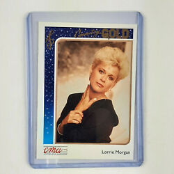 Lorrie Morgan 1992 Sterling Cards CMA Country Gold quot;FOILquot; Insert Card #48