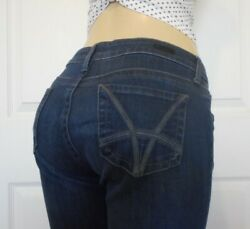 KUT from the KLOTH Womens Low Rise Stretch Jeans Straight Leg Size 8P $16.99