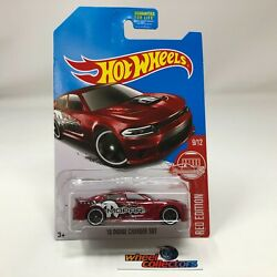 #x27;15 Dodge Charger SRT * Red Edition Target Only * 2017 Hot Wheels * WK3 $6.99
