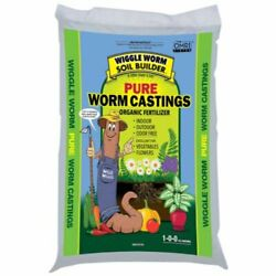 Wiggle Worm WWSB30LB Unco Industries Builder Worm Castings 30 lb Compost Soil $52.99