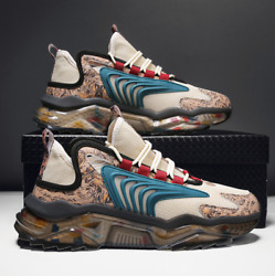 Multicolor Men Trainers Sports Sneakers $100.00