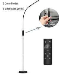 Dimmable LED Floor LightAdjustable Standing Lamp with Remote amp; Touch Control $39.90