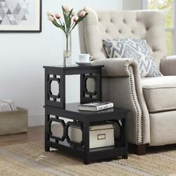 Convenience Concepts Omega 2 Step Chairside End Table Painted $97.56