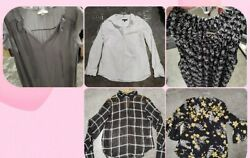 Womens designer clothing lot 5 pc shirt size small dressy casual or work