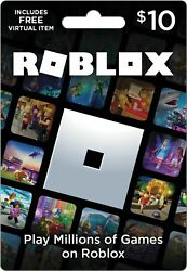 Roblox 800 Robux 1000 Robux Premium Card Fast Delivery $10.45