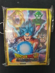 Dragon Ball Super TCG Tournament Prize Pack 50 Starter Party Sleeves *NEW SEALED GBP 14.50