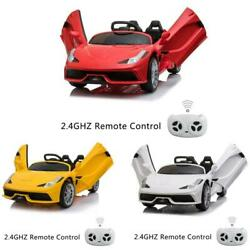 3 Colors 12v Electric Kids Ride on Car Truck Toy Remote Control LED Mp3 $119.96