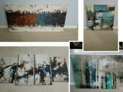 Modern Canvas wall paintings $240.00