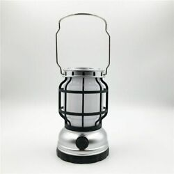 Bright Outdoor Camping USB Rechargeable Solar LED Lantern Adjustable Handle Knob $29.03