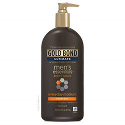 Gold Bond Mens Everyday Essentials Lotion 14.5 Ounce Mens Lotion for Body and $10.09