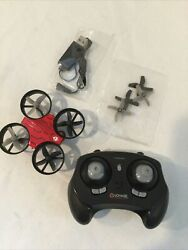 Voyage Aeronautics Micro Drone with Remote Palm Sized High Performance Red $10.00