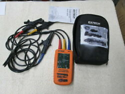 FLIR Commercial Systems Extech 480403 Phase Sequence And Motor Rotation JS 4