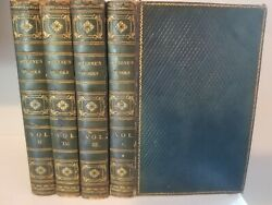 1823 The Works of Laurence Sterne 4 vols. Tristram Shandy Full Leather Bindings. $80.00