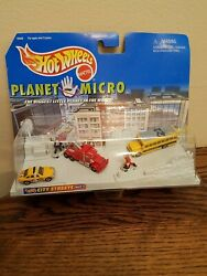 PLANET MICRO CITY STREET SERIES 1 HOT WHEELS FACTORY SEALED MADE BY MATTEL 1997 $24.99