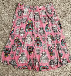 LuLaRoe Madison Skirt Size Small with Owls $7.00