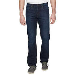 Urban Star Mens Relaxed Fit Jean Straight Leg Classic 5 Pocket 2 way stretch $21.63