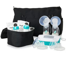 Evenflo Deluxe Advanced Double Electric Breast Pump w Travel Bag amp; Cooler 937509 $85.00