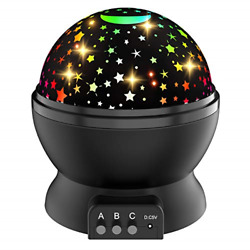 ATOPDREAM Night Light for Kids Star Night Light Projector for Kids Rotating for $19.49