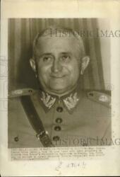1945 Press Photo General Eurico Dutra leads in Brazil#x27; presidential election $19.99
