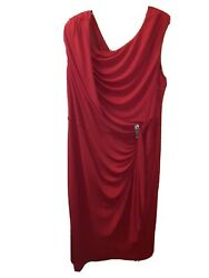 red cocktail dress Size 20 $39.90