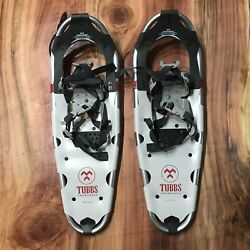 Tubbs Adventure 25 Inch Snowshoes Snow Shoes Made in USA Aluminum Pair $124.99