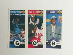 1996 97 Collector's Choice Kobe Bryant Lakers Rookie RC with Kevin Garnett HOF $24.99