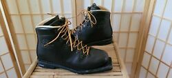 Vintage Asolo Sport Snowpine Mens Leather Cross Country Ski Boots Size 11 $60.00