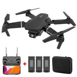 Dual Camera Drone 3Speed WIFI FPV 4K HD Foldable Wide Angle Selfie RC Quadcopter $58.99