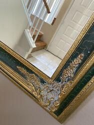 large vintage wall mirror 39x48 $99.99