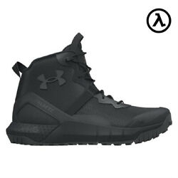 UNDER ARMOUR MENS VALSETZ MICRO G SIDE ZIP 6quot; TACTICAL BOOTS 3023747 ALL SIZES $125.95
