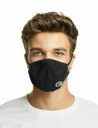 Champion L XL Ellipse Reusable Face Masks New In Box pack of 3X Black x temp $9.95