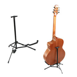 Glarry Mini Foldable Electrc Bass Guitar Stand for Display $12.49