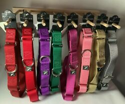 The Premier® Collar Martingale Style Dog Collar X LARGE 1quot; Wide Brand New $10.00