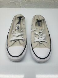 Converse All Star Womens Shoreline Ivory Skateboard Shoes Size 7.5 537082F $29.99