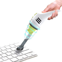 Meco Keyboard Cleaner Rechargeable Mini Vacuum Wet Dry Cordless Desk Vacuum Cle $34.69