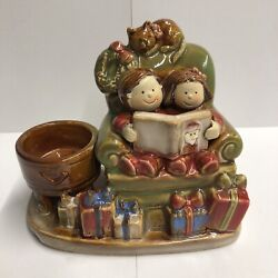 Yankee Candle Christmas Kids Chair Tea Light Holder Size 6x5quot; Ronnie Walter $28.99