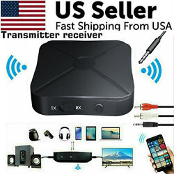 2in1 Bluetooth Transmitter Receiver Wireless Adapter TV Home Stereo A2DP Audio $8.19