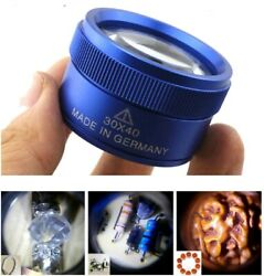 40X30 Magnifying Loupe Jewelry Eye Glass Magnifier Jewelers Loop Pocket US $9.99